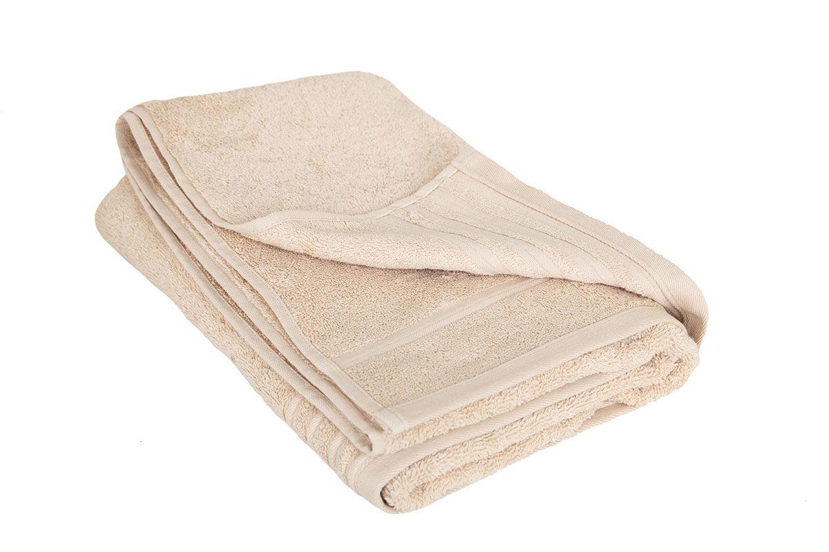 Beige håndklæde