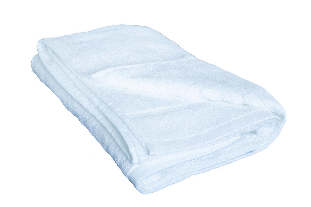 Hvidt håndklæde