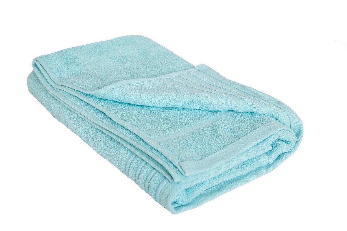 Lys turkis håndklæde