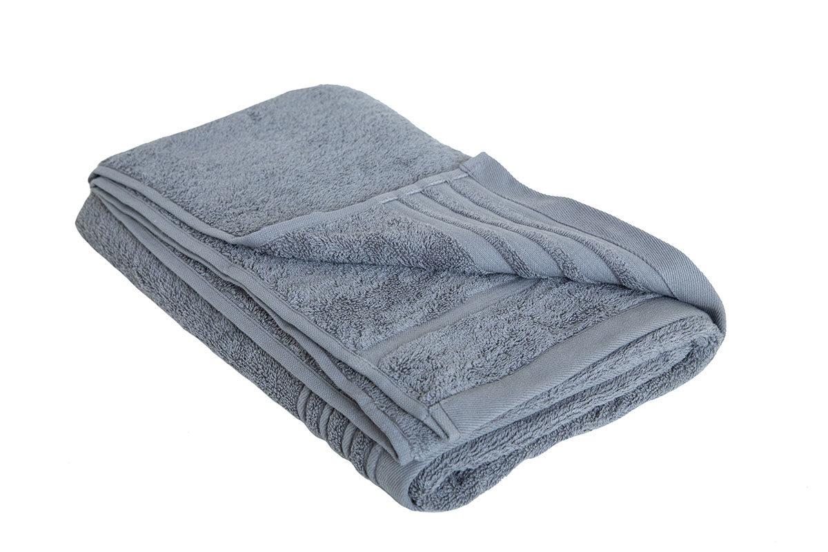 Mørkegrå håndklæde