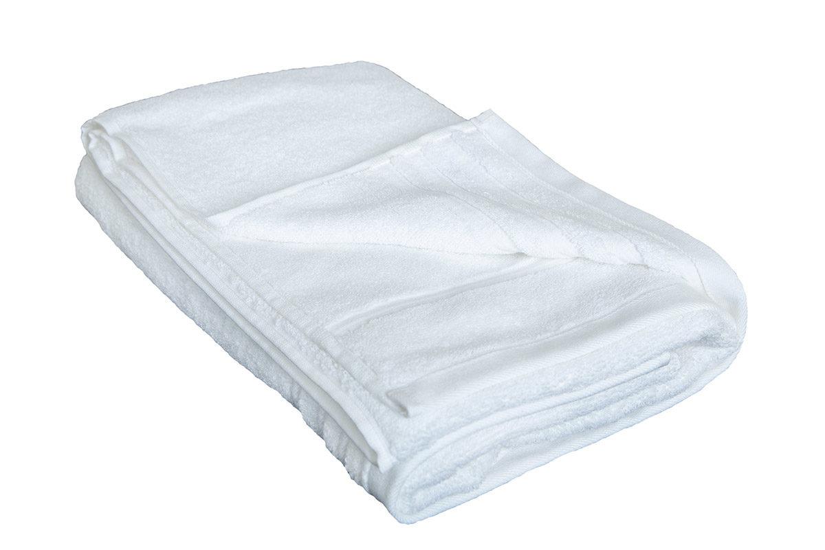 Off-white håndklæde