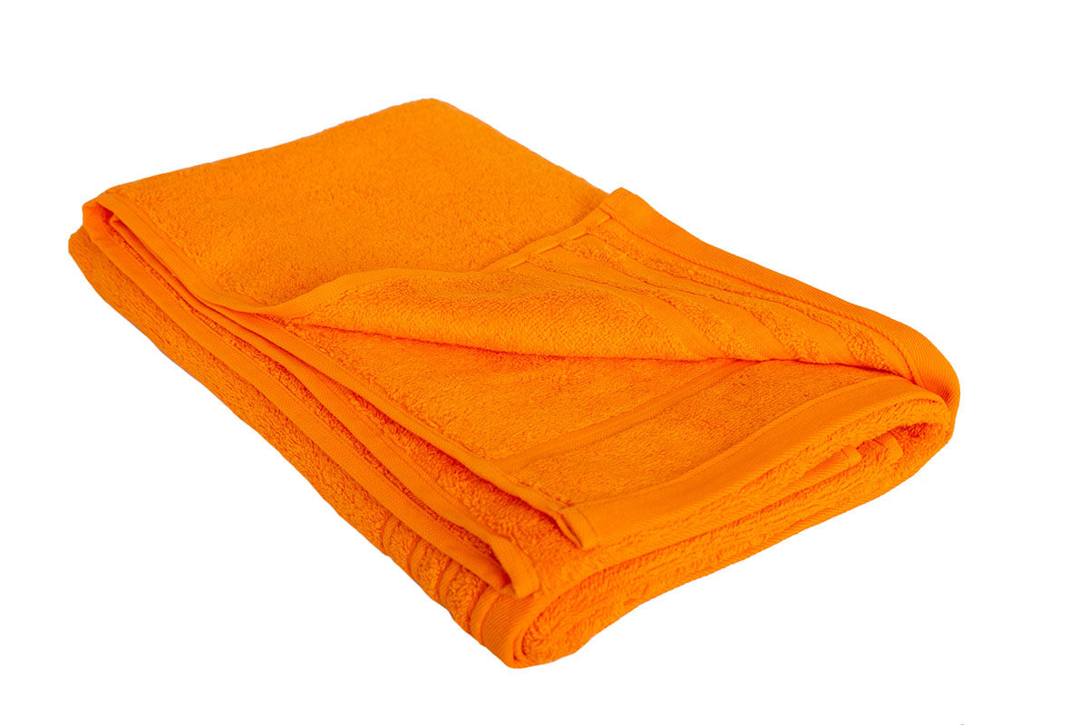 Orange håndklæde