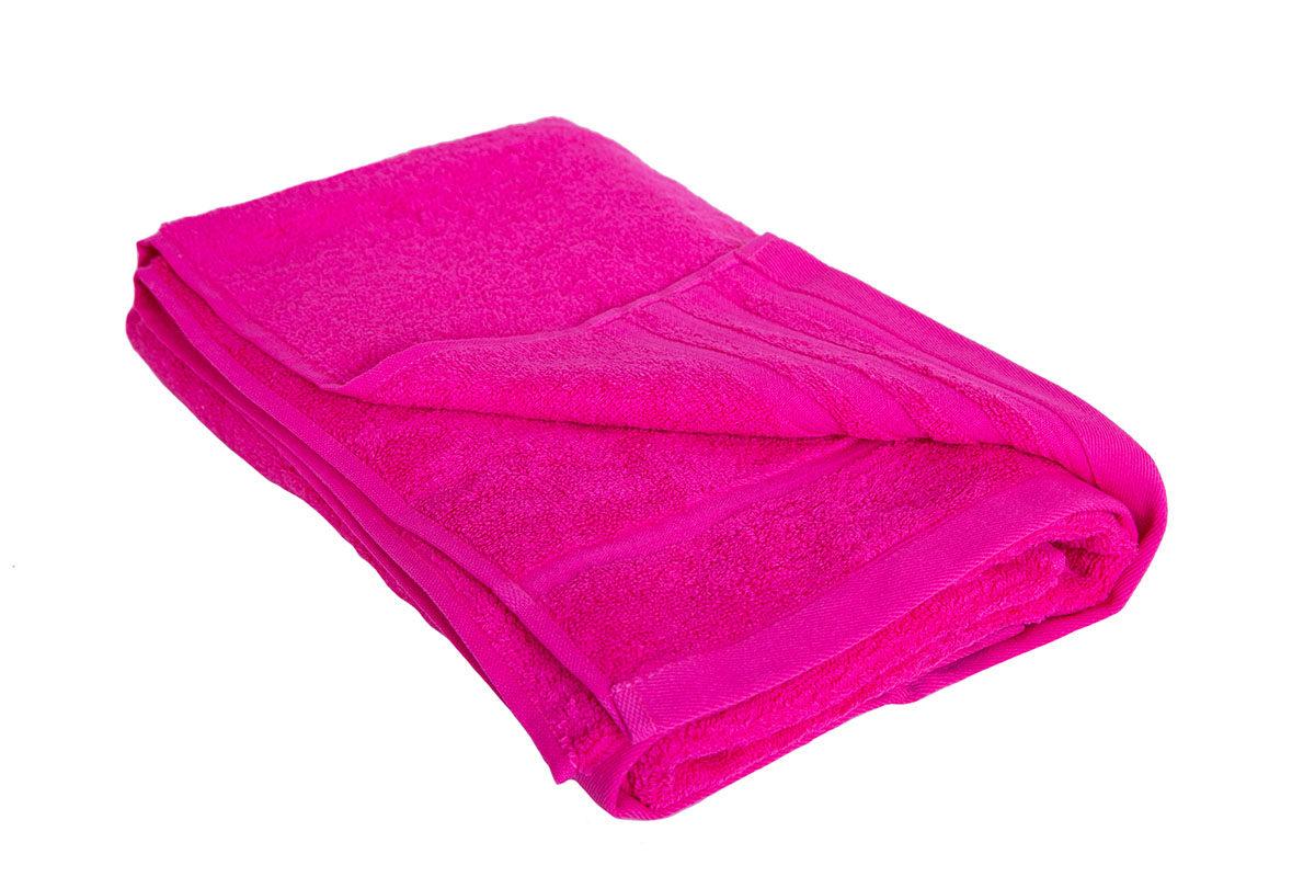 Pink håndklæde