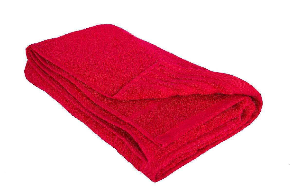 Rødt håndklæde