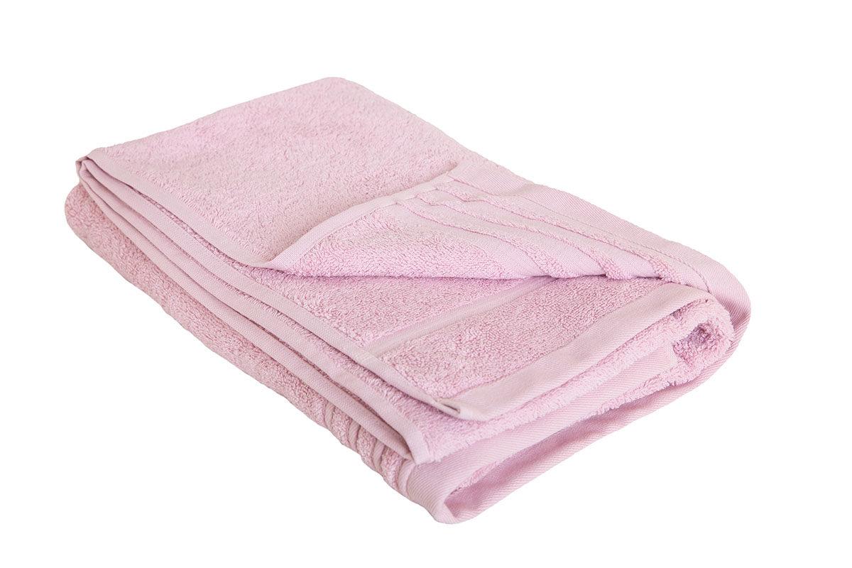 Rosa håndklæde