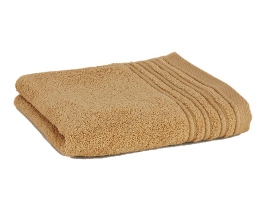 Håndklæde med broderet navn - linned